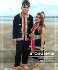 Set Couple Bidayuh