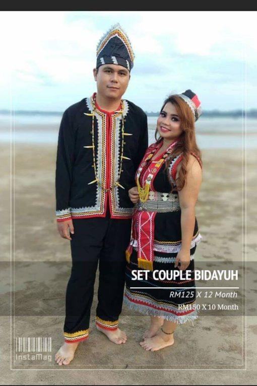 Set Couple Bidayuh