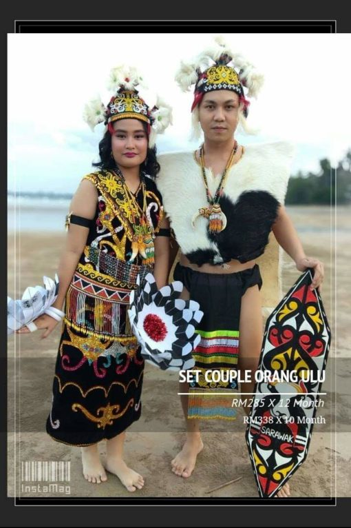 Set Couple Orang Ulu